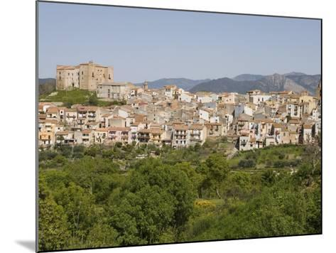 View of Castelbuono, Sicily, Italy, Europe-Martin Child-Mounted Photographic Print