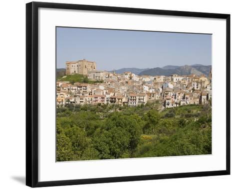 View of Castelbuono, Sicily, Italy, Europe-Martin Child-Framed Art Print