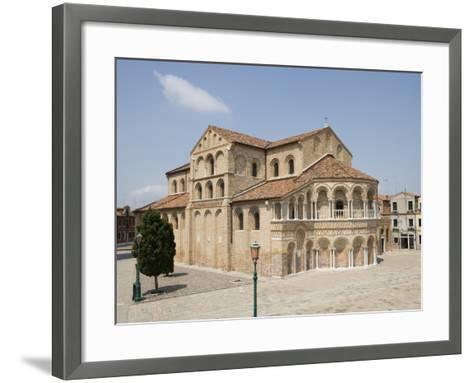 Basilica Dei Santi Maria E Donato in Murano, Venice, Veneto, Italy, Europe-Martin Child-Framed Art Print
