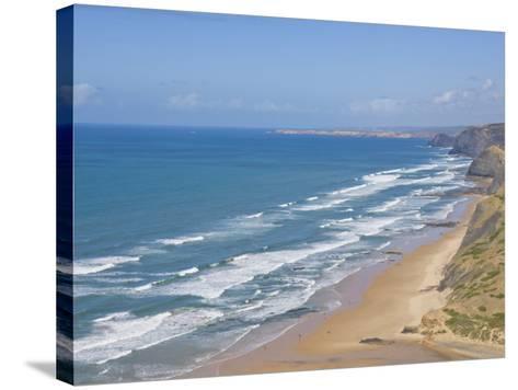 Costa Vincentina, Praia Do Castelejo and Cordama Beaches, Algarve, Portugal-Neale Clarke-Stretched Canvas Print