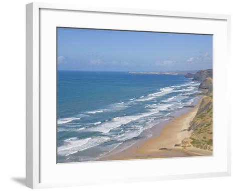 Costa Vincentina, Praia Do Castelejo and Cordama Beaches, Algarve, Portugal-Neale Clarke-Framed Art Print