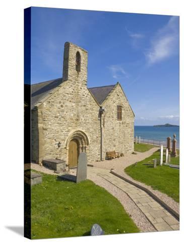 St. Hywyn's Church and Graveyard, Aberdaron, Llyn Peninsula, Gwynedd, North Wales, Wales, UK-Neale Clarke-Stretched Canvas Print