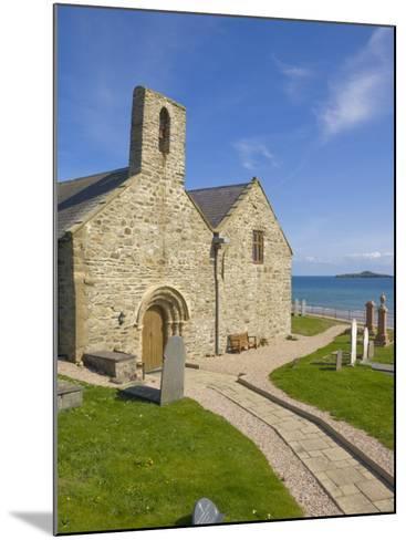 St. Hywyn's Church and Graveyard, Aberdaron, Llyn Peninsula, Gwynedd, North Wales, Wales, UK-Neale Clarke-Mounted Photographic Print