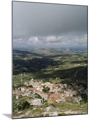 Burunchel Town and Landscape of Jaen Province Viewed from Cazorla Natural Park, Andalucia, Spain-Rob Cousins-Mounted Photographic Print