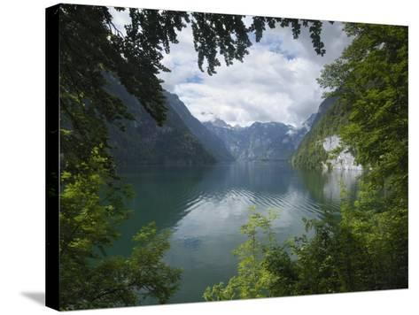 Konigssee, Berchtesgaden National Park, Bavaria, Germany-Gary Cook-Stretched Canvas Print