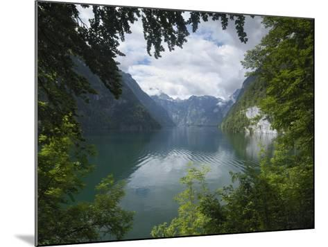 Konigssee, Berchtesgaden National Park, Bavaria, Germany-Gary Cook-Mounted Photographic Print