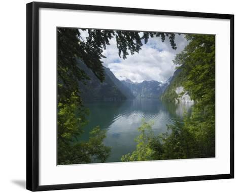 Konigssee, Berchtesgaden National Park, Bavaria, Germany-Gary Cook-Framed Art Print