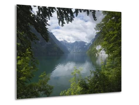 Konigssee, Berchtesgaden National Park, Bavaria, Germany-Gary Cook-Metal Print