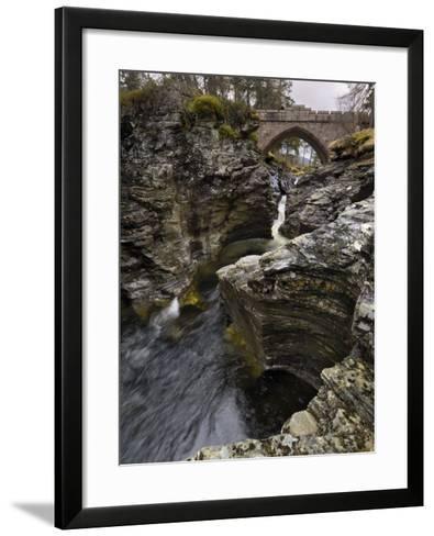Linn of Dee, Near Braemar, Cairngorms National Park, Aberdeenshire, Scotland, United Kingdom-Gary Cook-Framed Art Print