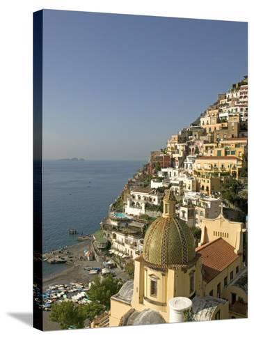 Positano, Amalfi Coast, UNESCO World Heritage Site, Campania, Italy, Europe-Marco Cristofori-Stretched Canvas Print