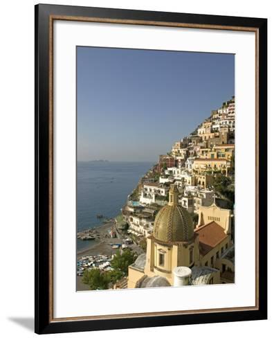 Positano, Amalfi Coast, UNESCO World Heritage Site, Campania, Italy, Europe-Marco Cristofori-Framed Art Print