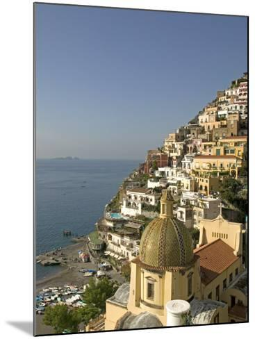 Positano, Amalfi Coast, UNESCO World Heritage Site, Campania, Italy, Europe-Marco Cristofori-Mounted Photographic Print