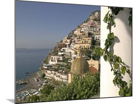 Positano, View from Hotel Sirenuse, Amalfi Coast, UNESCO World Heritage Site, Campania, Italy-Marco Cristofori-Mounted Photographic Print