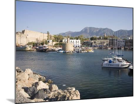 Fort and Harbour, Kyrenia, North Cyprus, Mediterranean, Europe-Philip Craven-Mounted Photographic Print