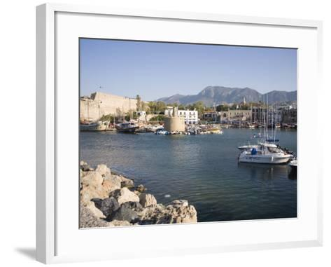 Fort and Harbour, Kyrenia, North Cyprus, Mediterranean, Europe-Philip Craven-Framed Art Print