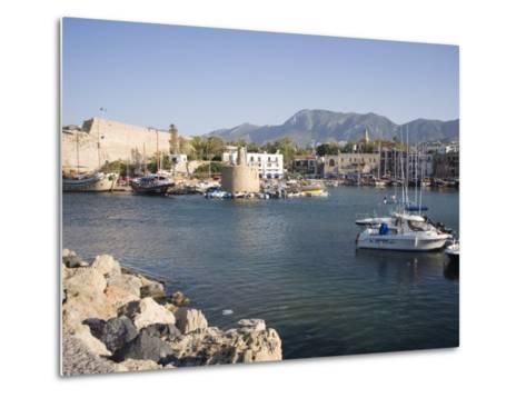 Fort and Harbour, Kyrenia, North Cyprus, Mediterranean, Europe-Philip Craven-Metal Print