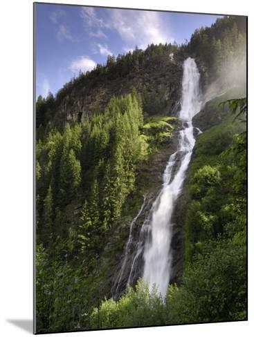 Stuibenfall, Tyrol's Highest Waterfall, Otztal Valley, Tyrol, Austria, Europe-Gary Cook-Mounted Photographic Print