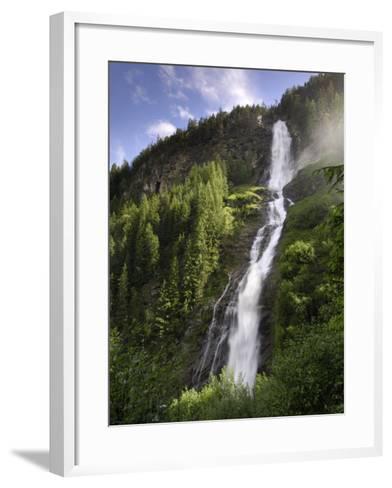 Stuibenfall, Tyrol's Highest Waterfall, Otztal Valley, Tyrol, Austria, Europe-Gary Cook-Framed Art Print