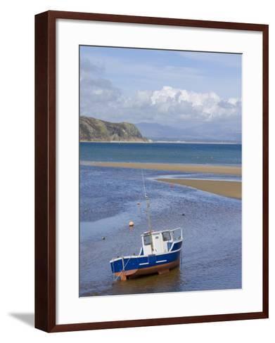 Warren, Abersoch Beach, St. Tudwals Road, Llyn Peninsula, Gwynedd, North Wales, Wales, UK-Neale Clarke-Framed Art Print