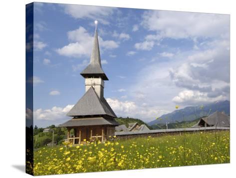 Wooden Church, Fundata, Transylvania, Romania, Europe-Gary Cook-Stretched Canvas Print