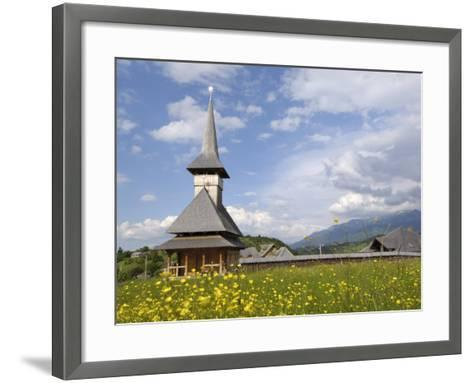 Wooden Church, Fundata, Transylvania, Romania, Europe-Gary Cook-Framed Art Print
