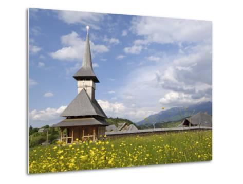 Wooden Church, Fundata, Transylvania, Romania, Europe-Gary Cook-Metal Print