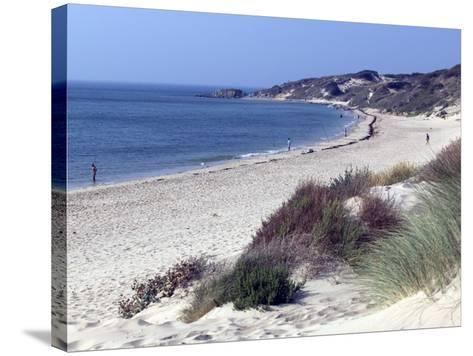 Beach, Tarifa, Andalucia, Spain, Europe-Marco Cristofori-Stretched Canvas Print
