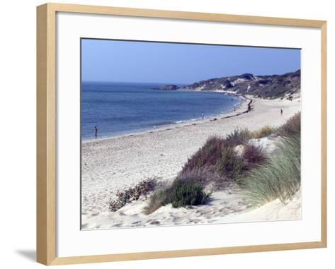 Beach, Tarifa, Andalucia, Spain, Europe-Marco Cristofori-Framed Art Print