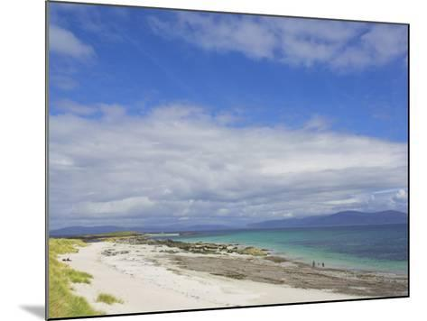 Traigh Bhan Beach and Sound of Iona, Isle of Iona, Inner Hebrides, Scotland, United Kingdom, Europe-Neale Clarke-Mounted Photographic Print