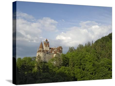 Bran Castle, Bran, Transylvania, Romania, Europe-Gary Cook-Stretched Canvas Print