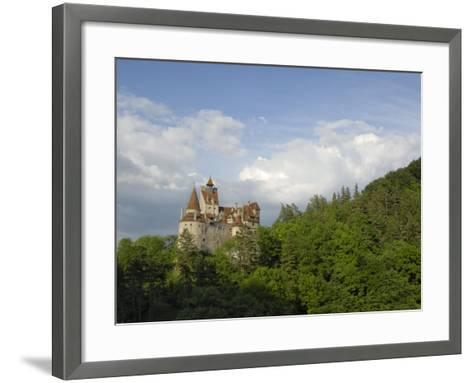 Bran Castle, Bran, Transylvania, Romania, Europe-Gary Cook-Framed Art Print