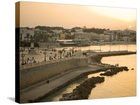 Otranto, Lecce Province, Puglia, Italy, Europe-Marco Cristofori-Stretched Canvas Print