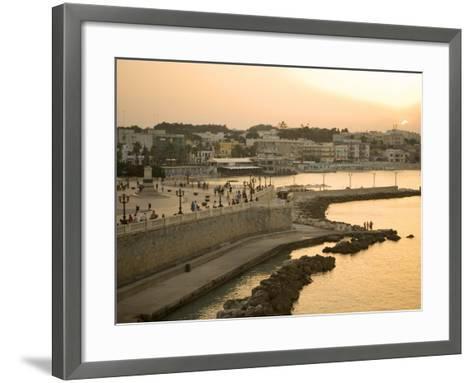Otranto, Lecce Province, Puglia, Italy, Europe-Marco Cristofori-Framed Art Print