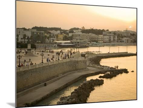 Otranto, Lecce Province, Puglia, Italy, Europe-Marco Cristofori-Mounted Photographic Print