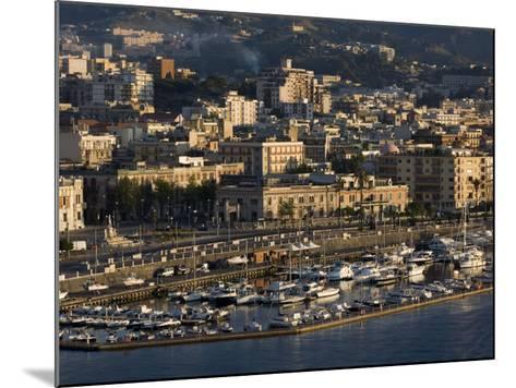 Yacht Marina, Port of Messina, Sicily, Italy, Mediterranean, Europe-Richard Cummins-Mounted Photographic Print