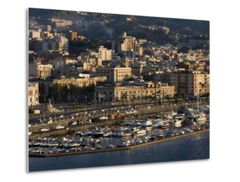 Yacht Marina, Port of Messina, Sicily, Italy, Mediterranean, Europe-Richard Cummins-Metal Print