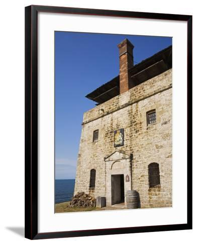 North Redoubt, Old Fort Niagara State Park, Youngstown, New York State, USA-Richard Cummins-Framed Art Print