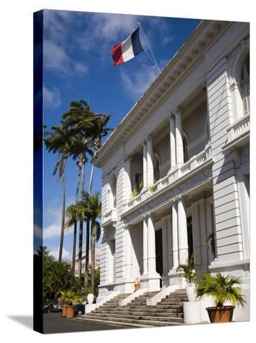 Government House, Fort-De-France, Martinique, French Antilles, West Indies, Caribbean-Richard Cummins-Stretched Canvas Print