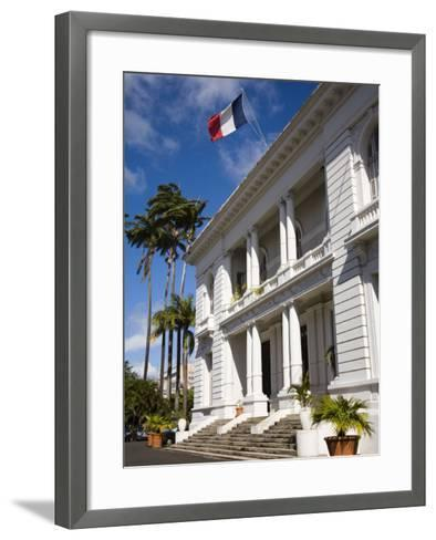 Government House, Fort-De-France, Martinique, French Antilles, West Indies, Caribbean-Richard Cummins-Framed Art Print