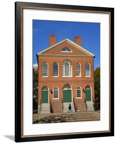Old Town Hall, Salem, Greater Boston Area, Massachusetts, New England, USA-Richard Cummins-Framed Art Print