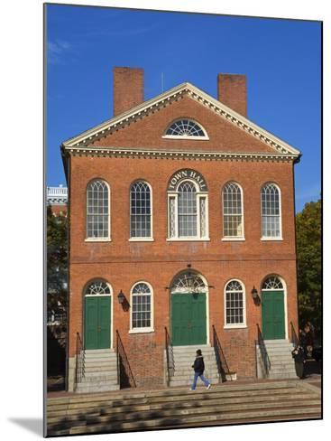 Old Town Hall, Salem, Greater Boston Area, Massachusetts, New England, USA-Richard Cummins-Mounted Photographic Print