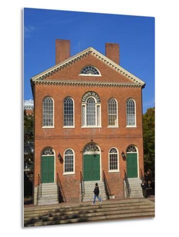 Old Town Hall, Salem, Greater Boston Area, Massachusetts, New England, USA-Richard Cummins-Metal Print
