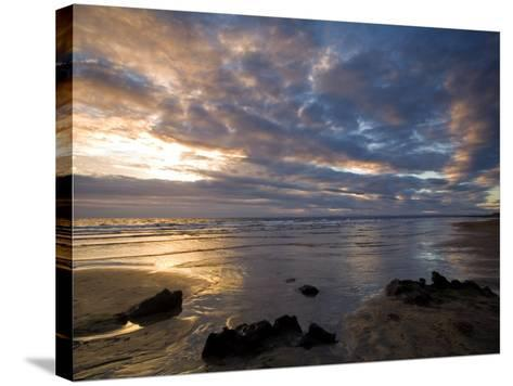 Fanore Beach, County Clare, Munster, Republic of Ireland, Europe-Richard Cummins-Stretched Canvas Print