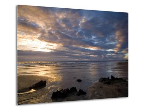 Fanore Beach, County Clare, Munster, Republic of Ireland, Europe-Richard Cummins-Metal Print