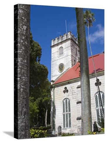 St. Michael's Cathedral, Bridgetown, Barbados, West Indies, Caribbean, Central America-Richard Cummins-Stretched Canvas Print