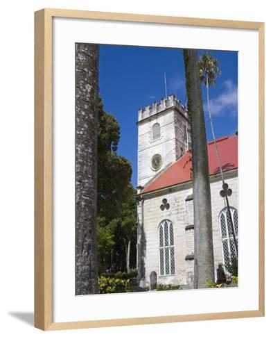 St. Michael's Cathedral, Bridgetown, Barbados, West Indies, Caribbean, Central America-Richard Cummins-Framed Art Print