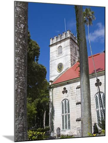 St. Michael's Cathedral, Bridgetown, Barbados, West Indies, Caribbean, Central America-Richard Cummins-Mounted Photographic Print