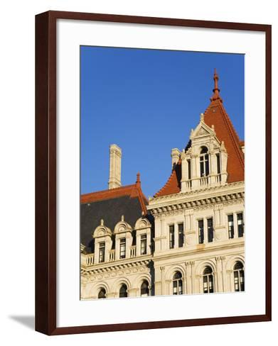 State Capitol Building, Albany, New York State, United States of America, North America-Richard Cummins-Framed Art Print