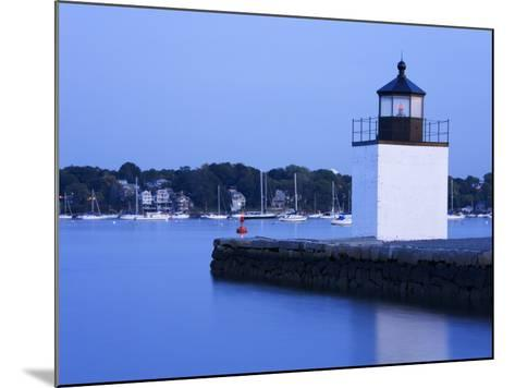 Derby Wharf Lighthouse, Salem, Greater Boston Area, Massachusetts, New England, USA-Richard Cummins-Mounted Photographic Print