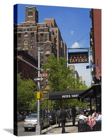 Pete's Tavern on Irving Place, Gramercy Park District, Manhattan, New York City, Ny, USA-Richard Cummins-Stretched Canvas Print